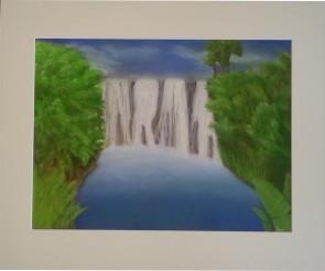 Bettinas Kraftbild Wasserfall
