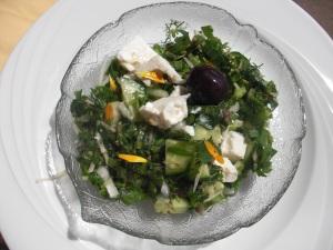 Ein leckerer Wildkräutersalat