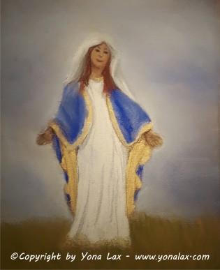 MARIA • Pastellkreide